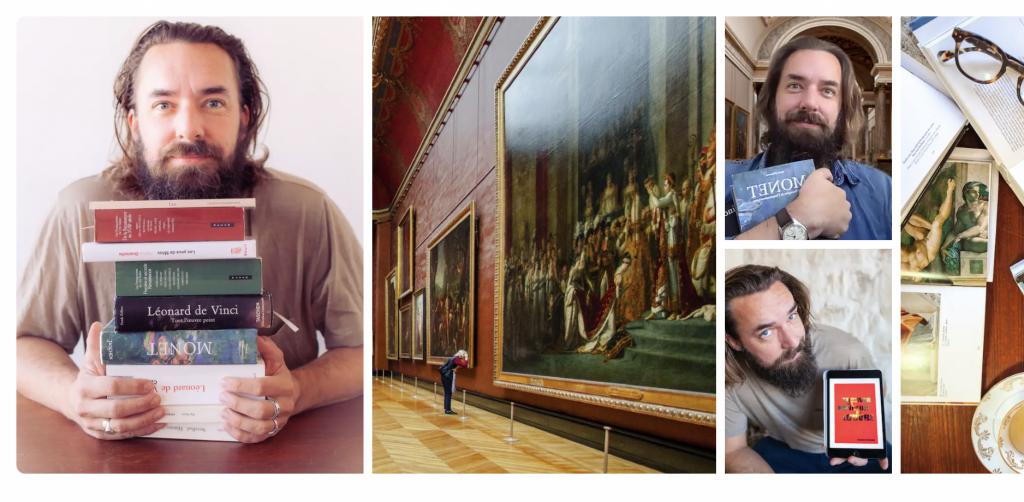 art, museum, tourguide